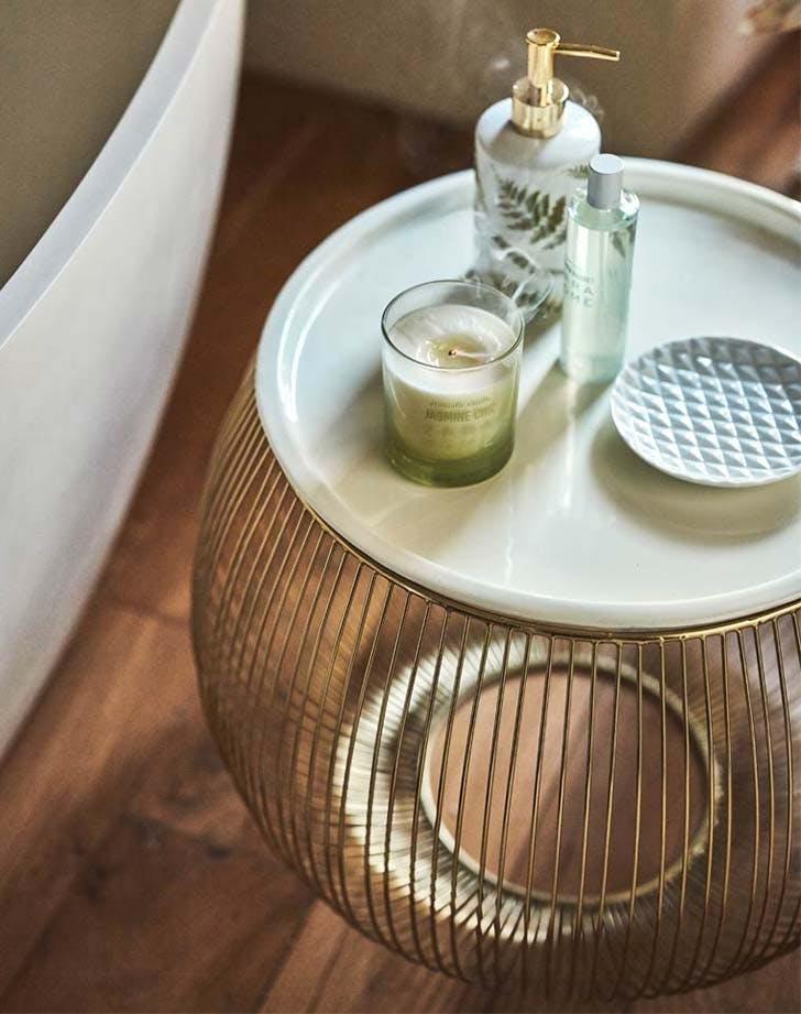 spring bathroom table zara