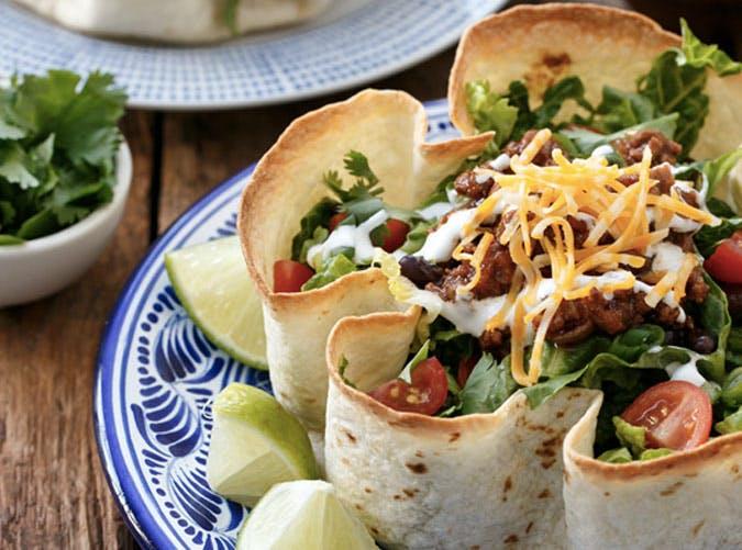 taco salad bowl recipe