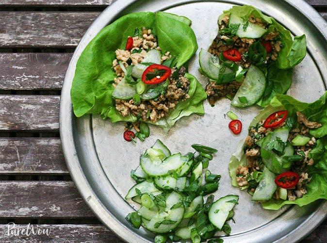 thai lettuce wraps recipe