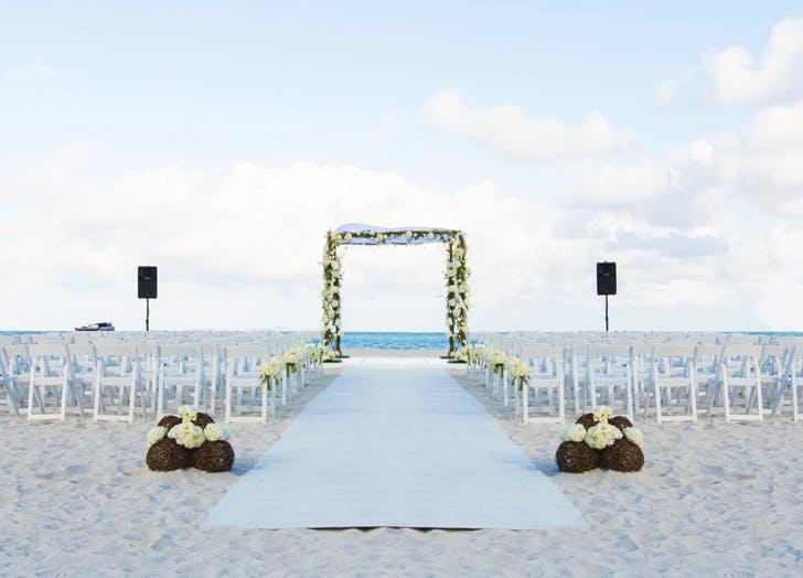 the bath club miami wedding