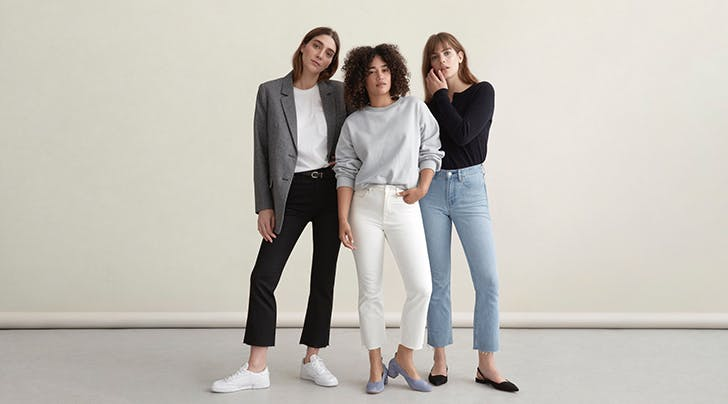 Everlanes Newest Jeans Will Magically Make You Look Taller