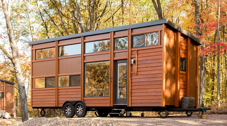 This Wisconsin Resort Is a Tiny Home Dwellers Dream