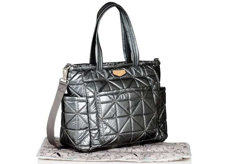 twelvelittle baby bag metallic