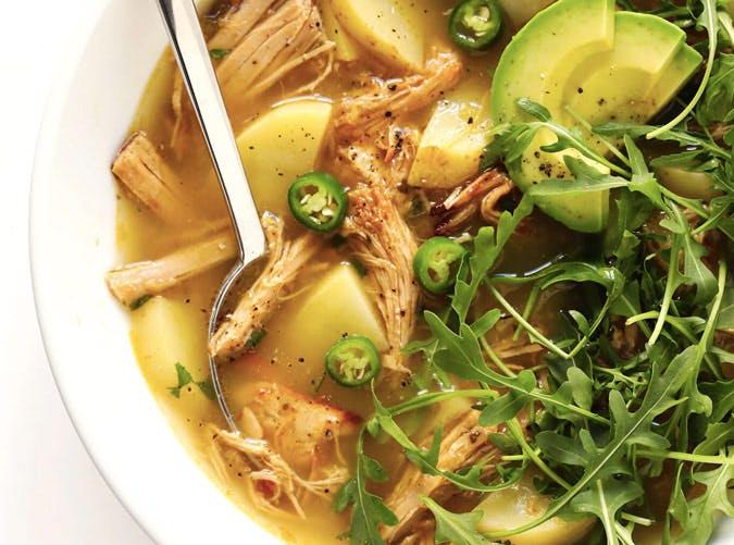 whole30 instant pot carnitas soup recipe