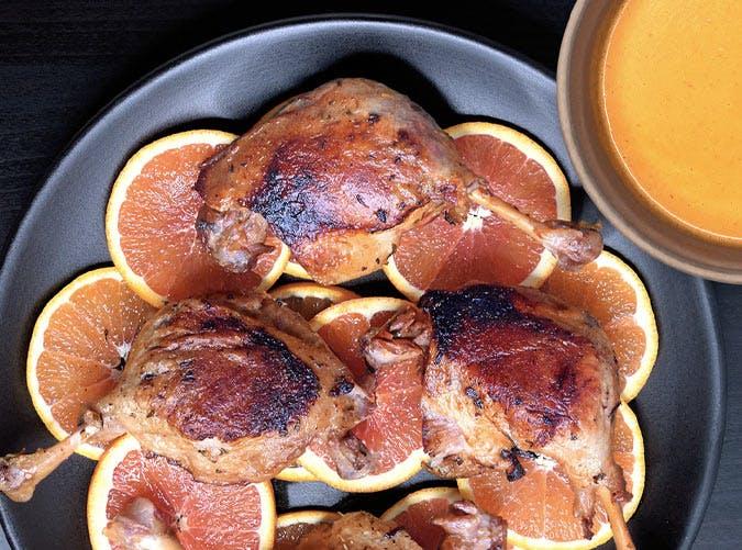 whole30 instant pot orange duck recipe