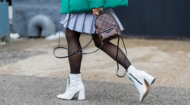 How to De-Static Your Skirt from Your Tights