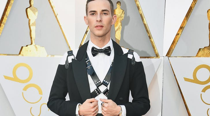 Oscars 2018: Adam Rippon Wore a Bondage Harness and Looked Absolutely Fab