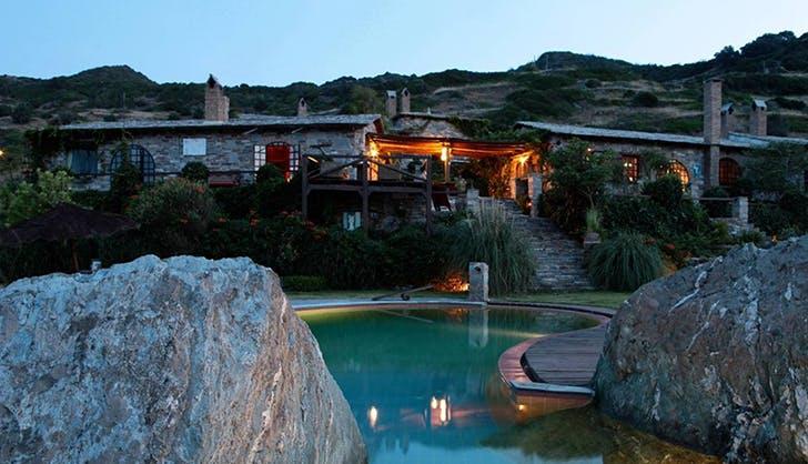 Aegean Island Villa with pool