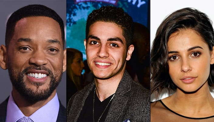 Aladdin Live Action Disney Remake Cast Will Smith Mena Massoud Naomi Scott.h.
