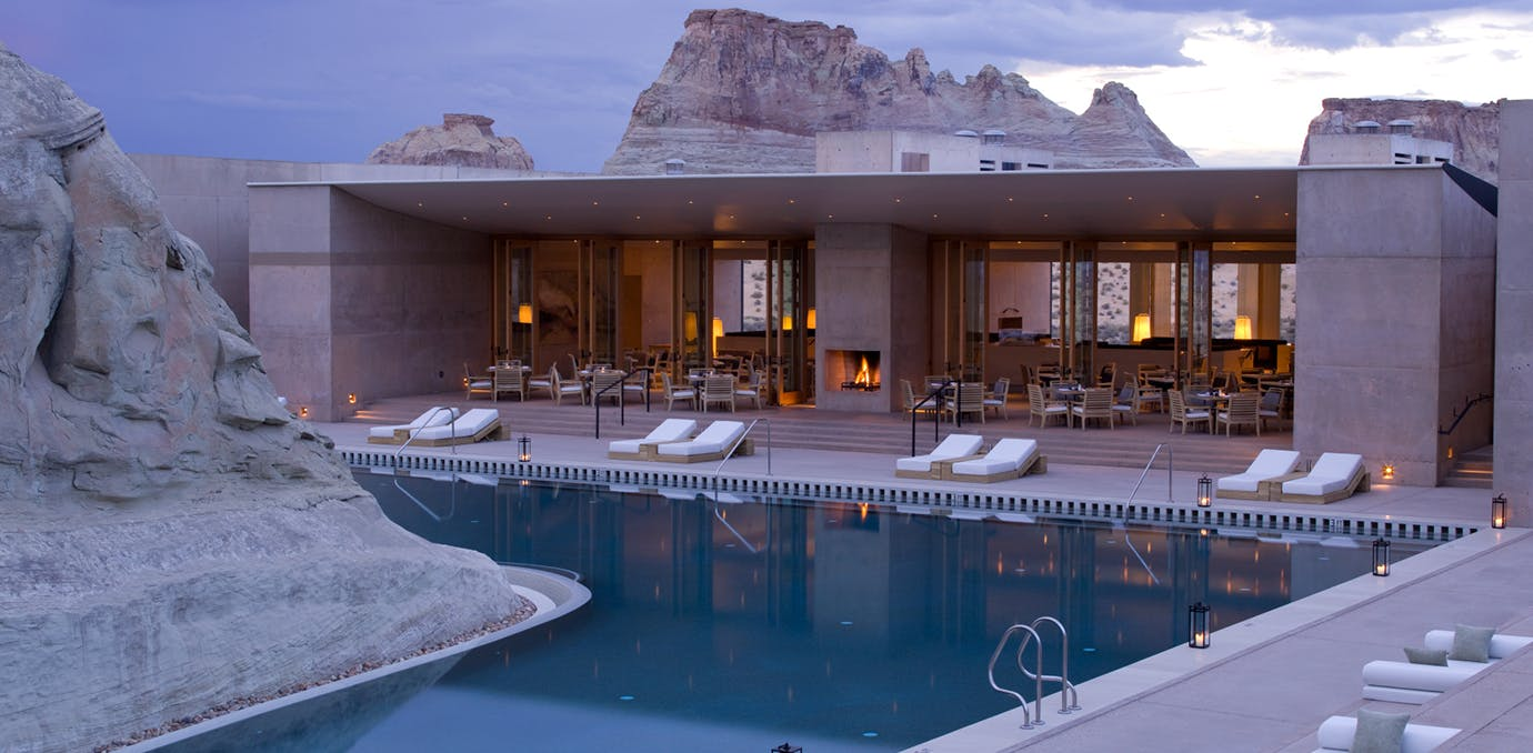 Amangiri  Canyon Point  Utah resorts that feel like westworld