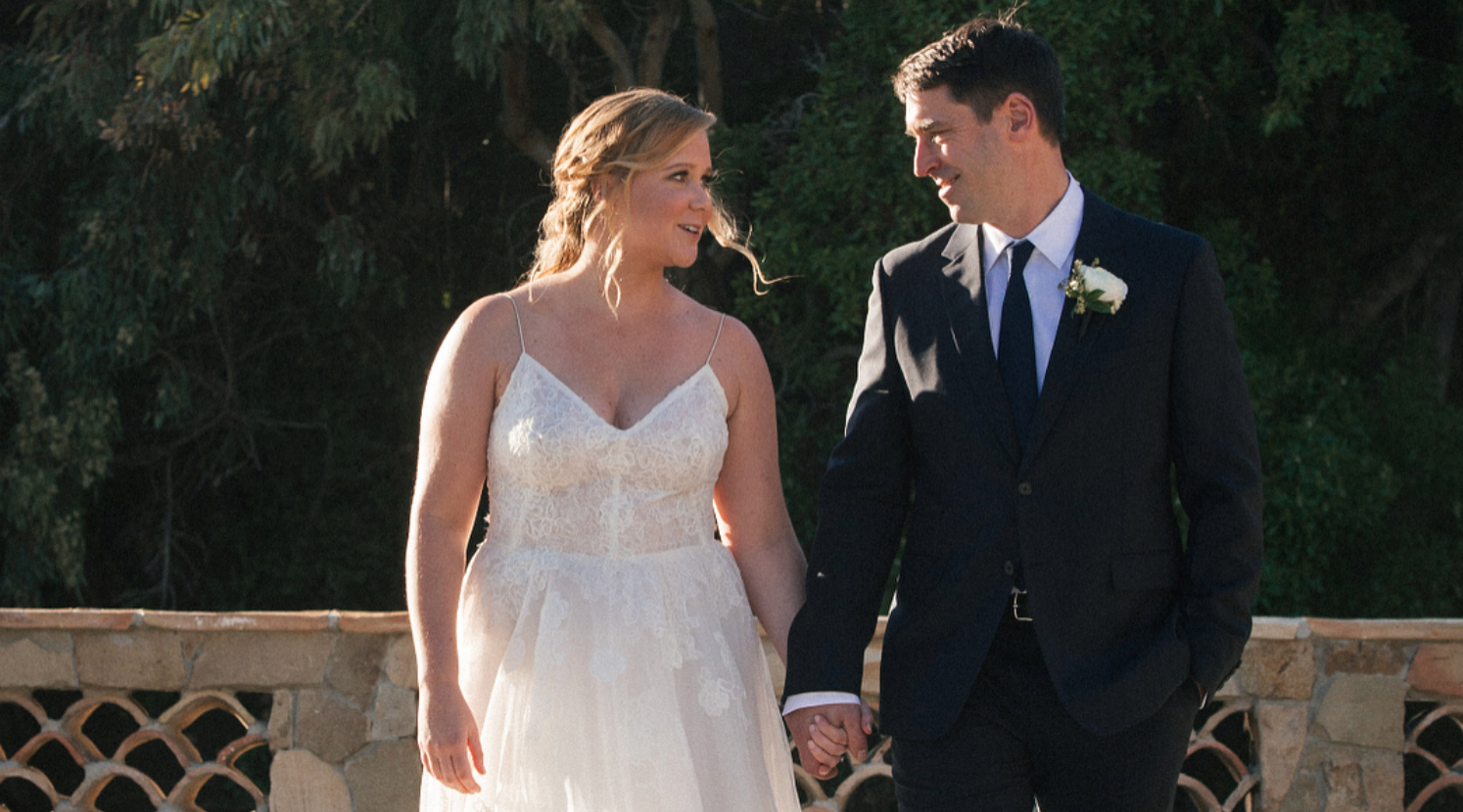 Newlywed Amy Schumer explains why she's not changing her last name