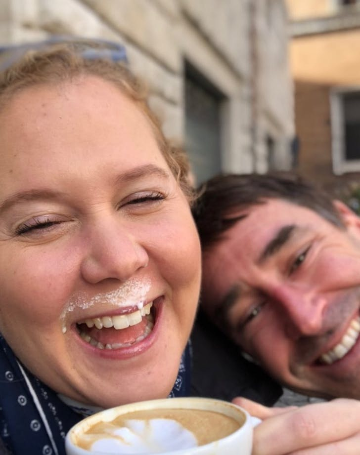 Amy Schumer honeymoon capuccino