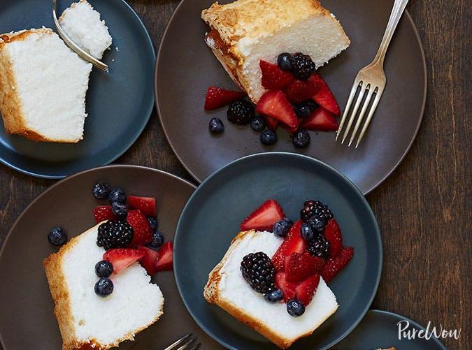 Angel food cake Easter dessert recipe