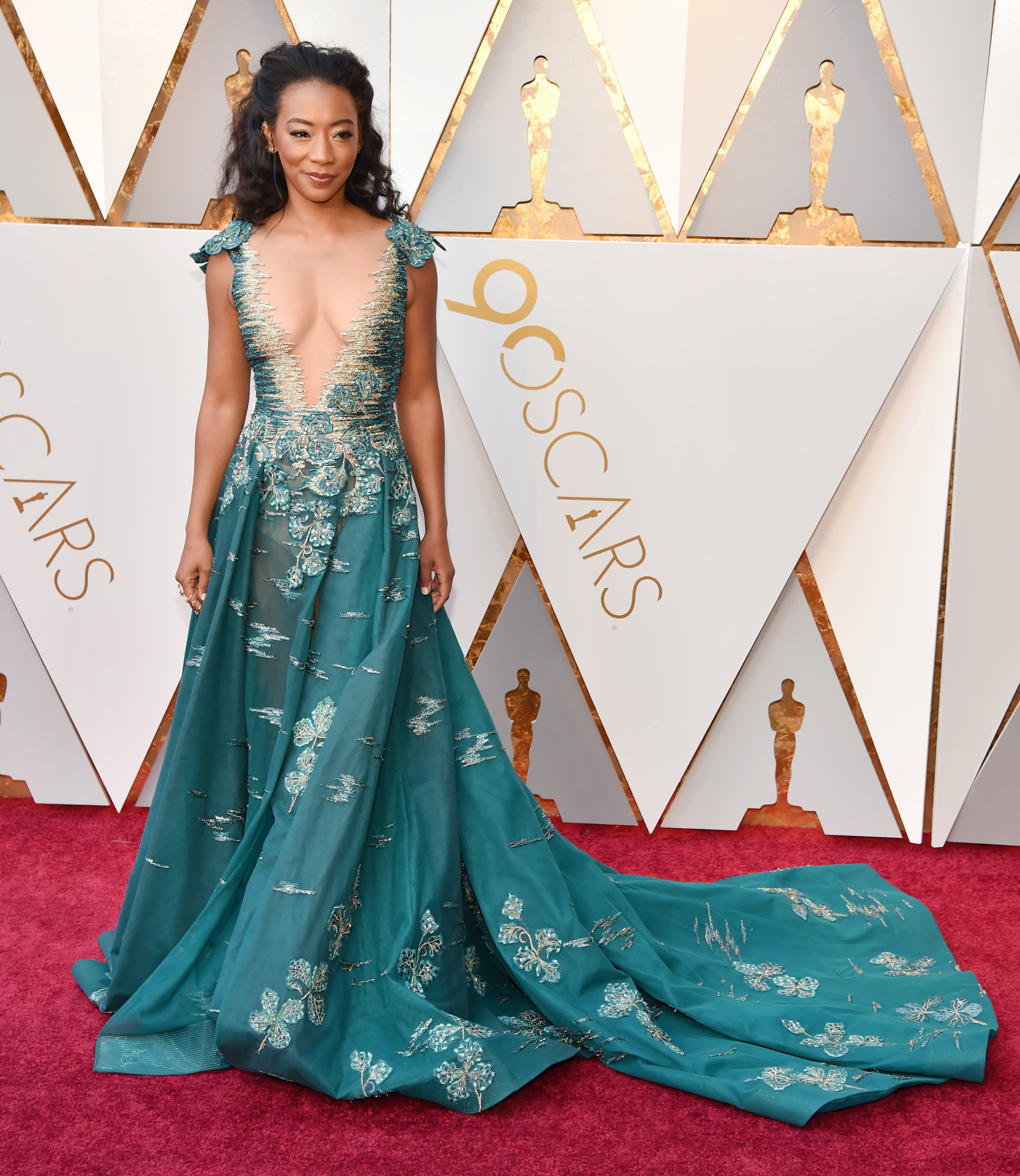 Betty Gabriel at the 2018 Oscars