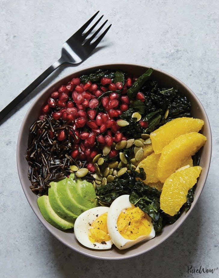 Buddha Bowl Spring Dinner recipe
