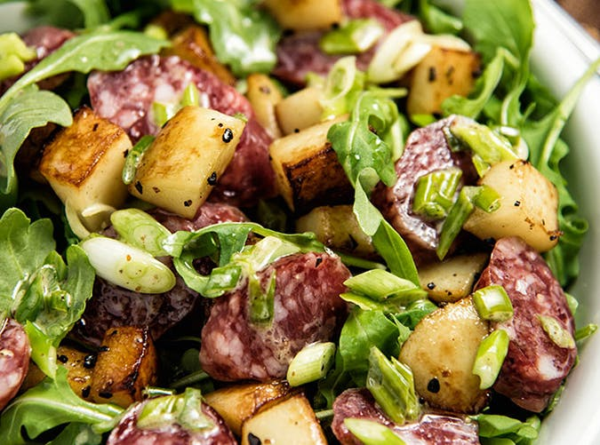 Chorizo and Roasted Potato Salad recipe