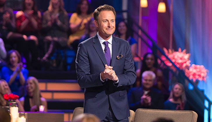 Chris Harrison after the final rose