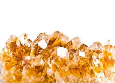 Citrine healing crystal 400