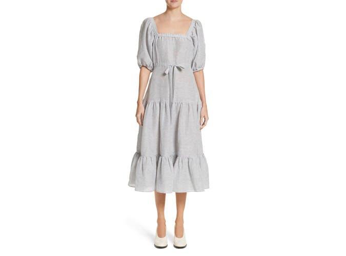 Co Tiered Midi Dress