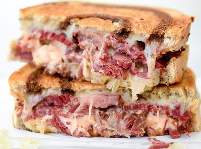 Corned Beef Grilled Cheese recipe