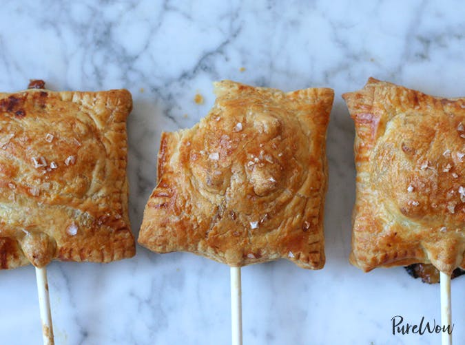 Cranberry Brie Puff Pastry Pops
