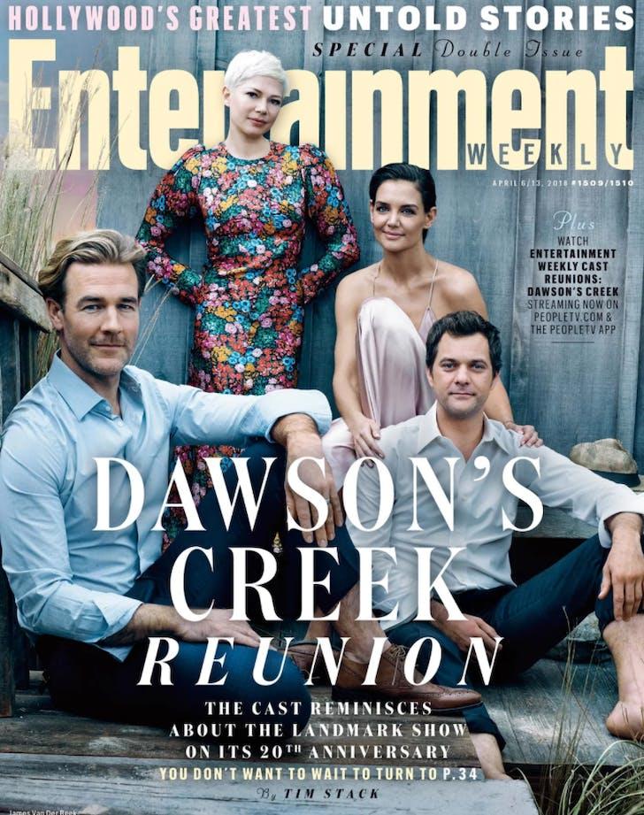 Dawson s Creek reunion cover