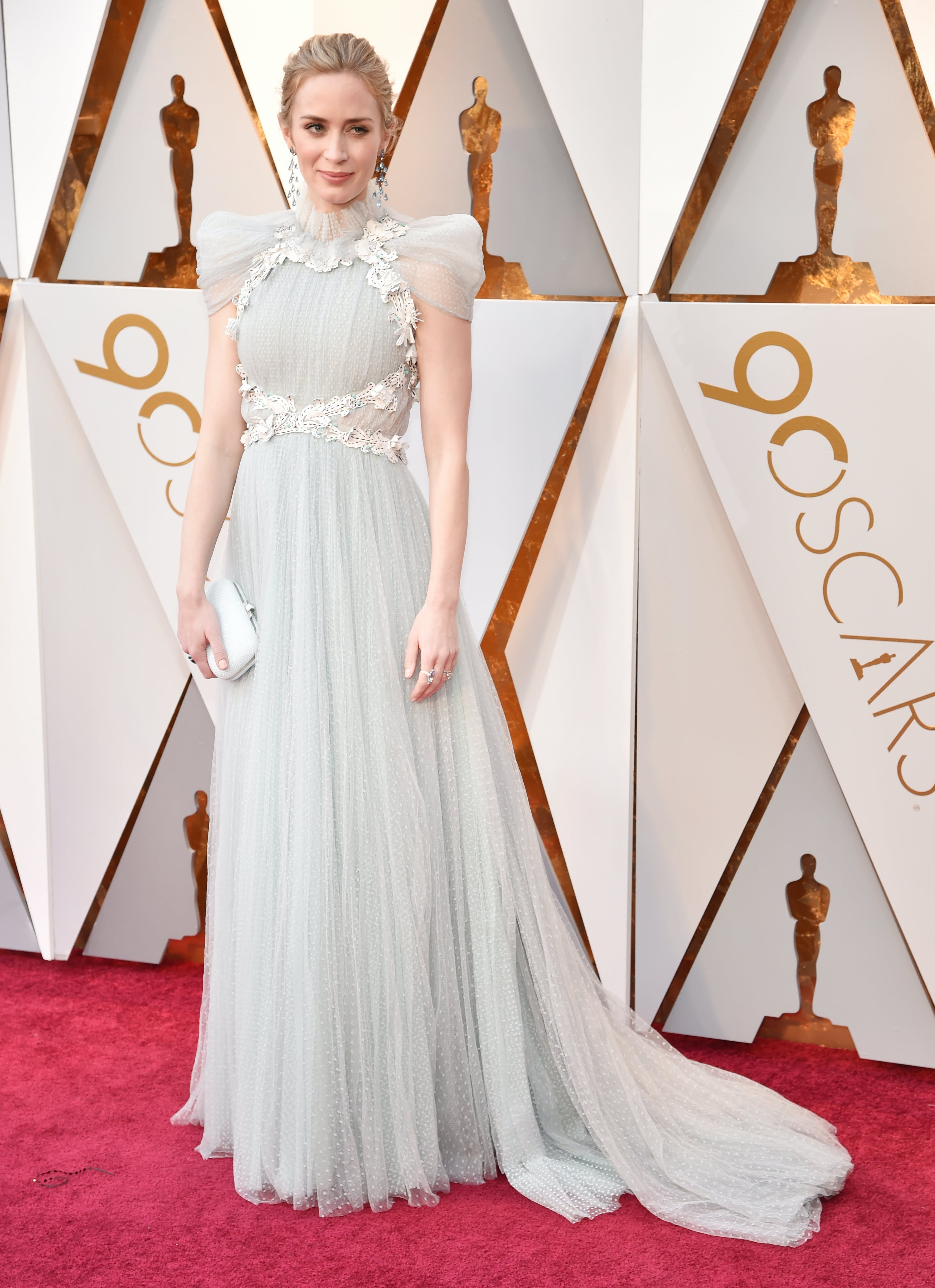 Emily Blunt at the 2018 Oscars