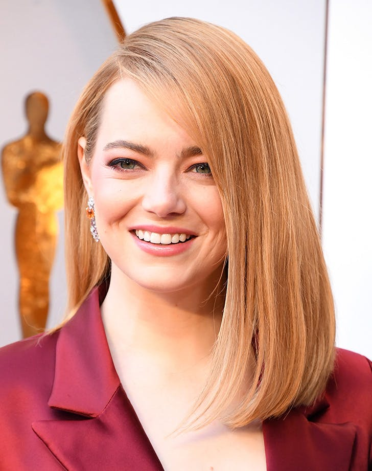 Emma stone oscars beauty 2018