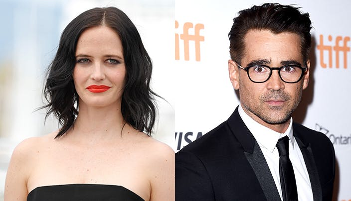 Eva Green Colin Farrell side by side