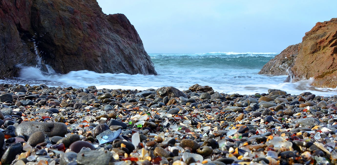 Glass Beach  California  United States