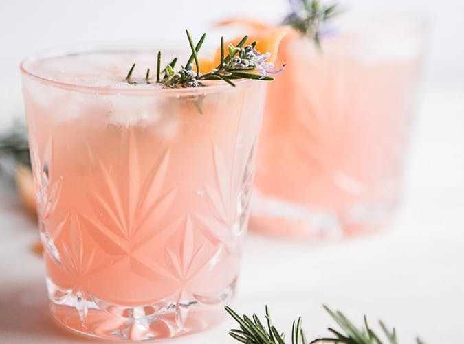 Grapefruit Cardamom Gin Fizz recipe