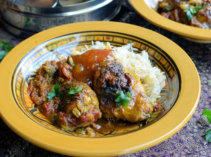 Gurkha Chicken Cardamom Curry recipe