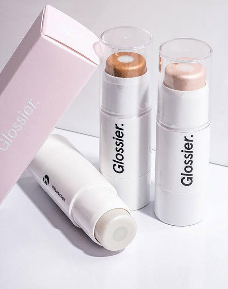 Haloscope highlighter from Glossier