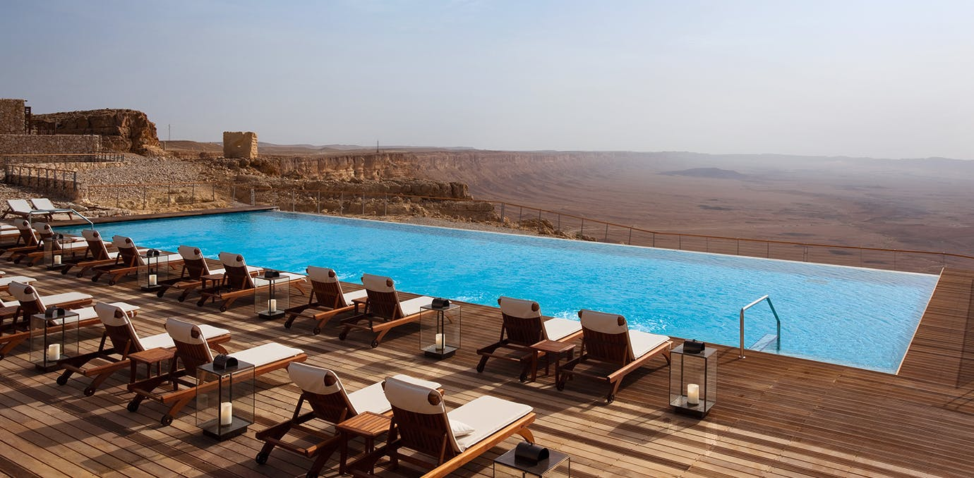 Isrotel Beresheet Mitzpe Ramon  Israel resorts that feel like westworld