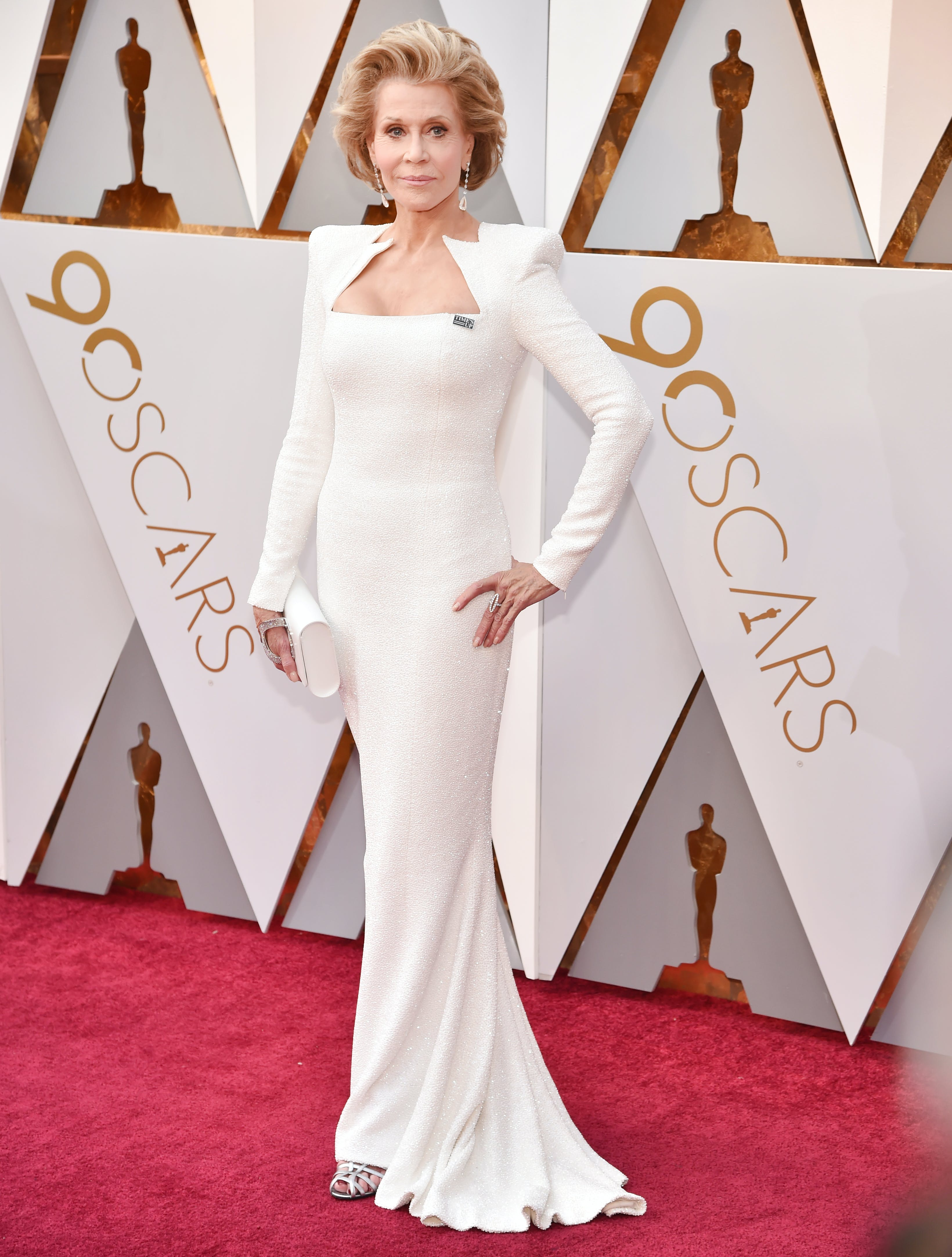 Jane Fonda at the 2018 Oscars