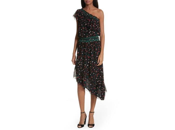 Joie One Shoulder Dress