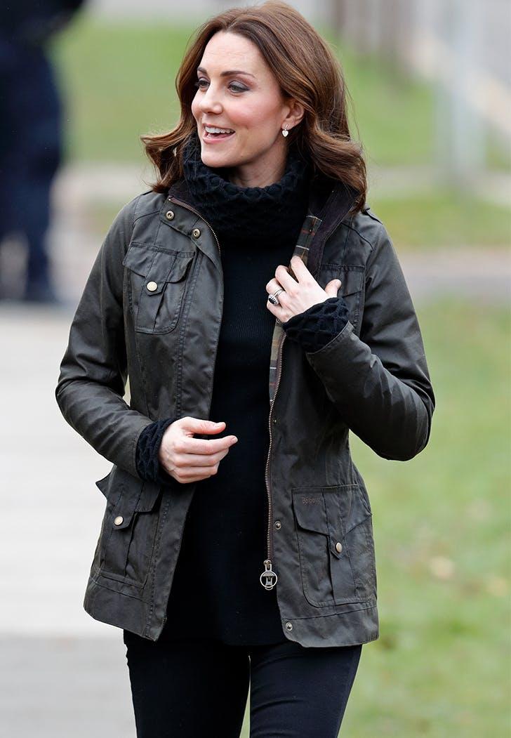 Kate Middleton Military Jacket Jeans