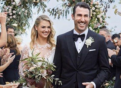 Kate Upton Wedding Dress.Kate Upton Shares Pics Of Her Wedding Reception Dress Purewow
