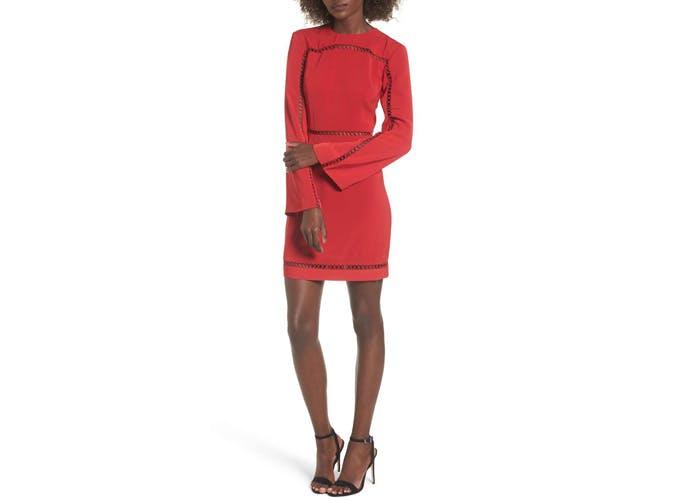 Keepsake the Label red mini dress