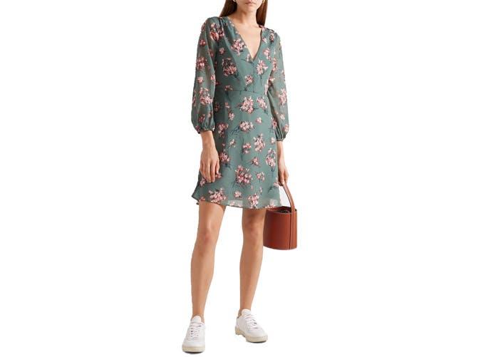 Madewell Long Sleeve Mini Dress