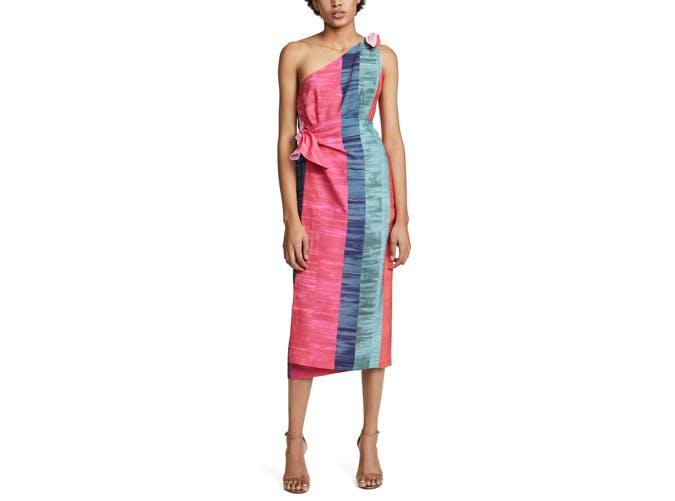 Mara Hoffman one shouldered dress