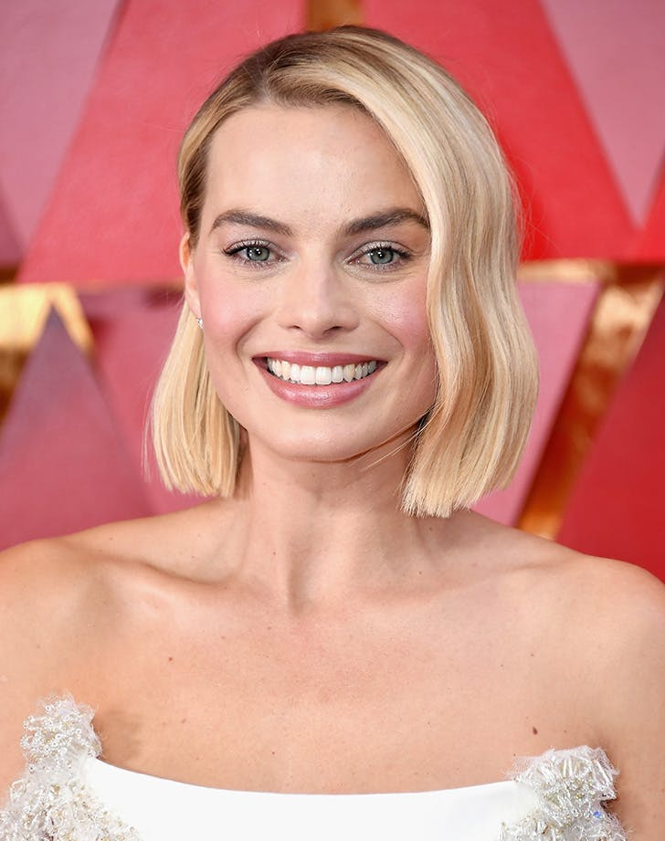 Margot robbie oscars beauty 2018