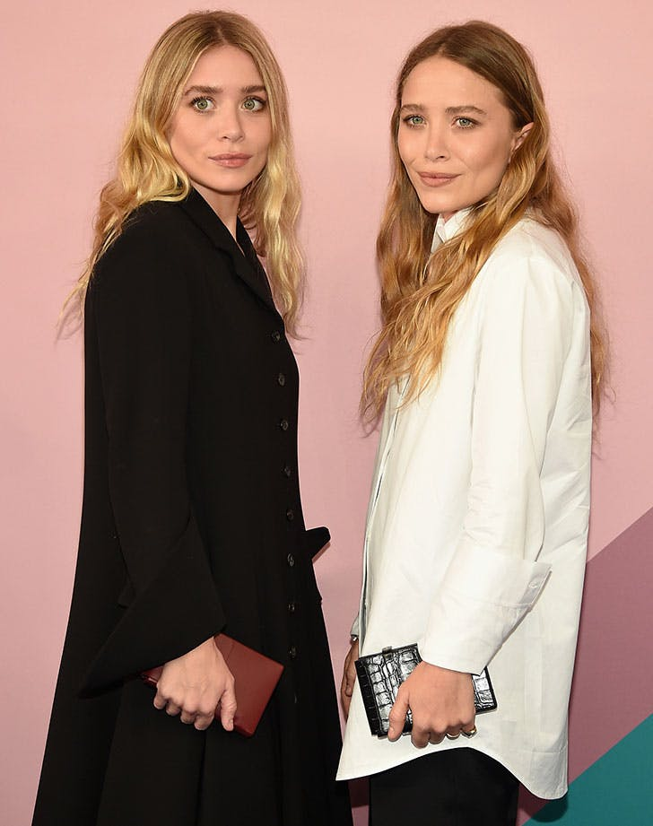 Mary Kate and Ashley Olson at NYFW