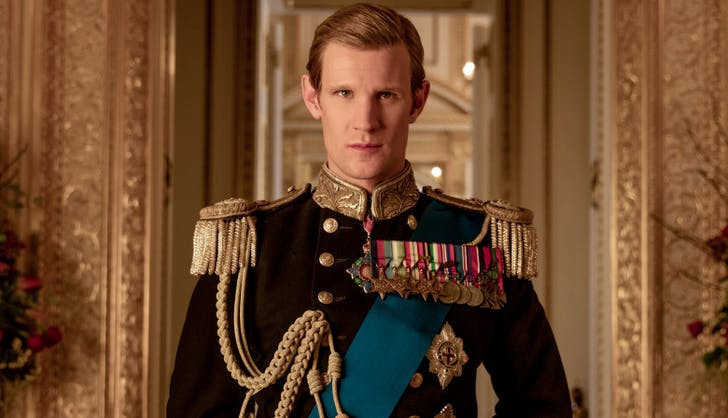 Matt Smith Prince Philip the Crown