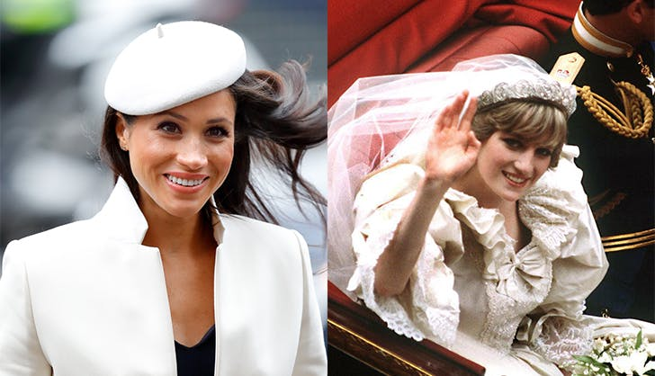 Meghan markle princess diana wedding day 2