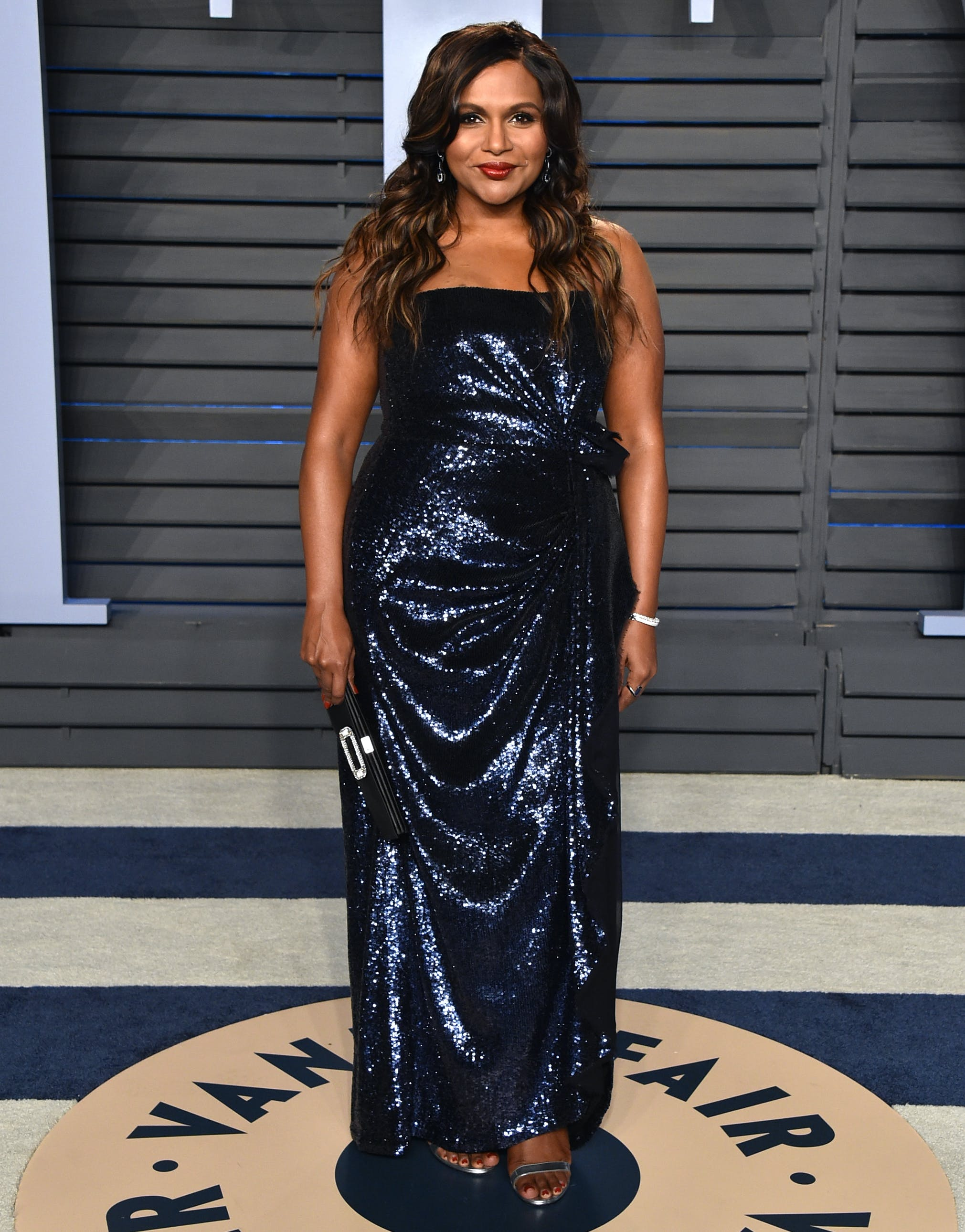 Mindy Kaling at the 2018 Oscars