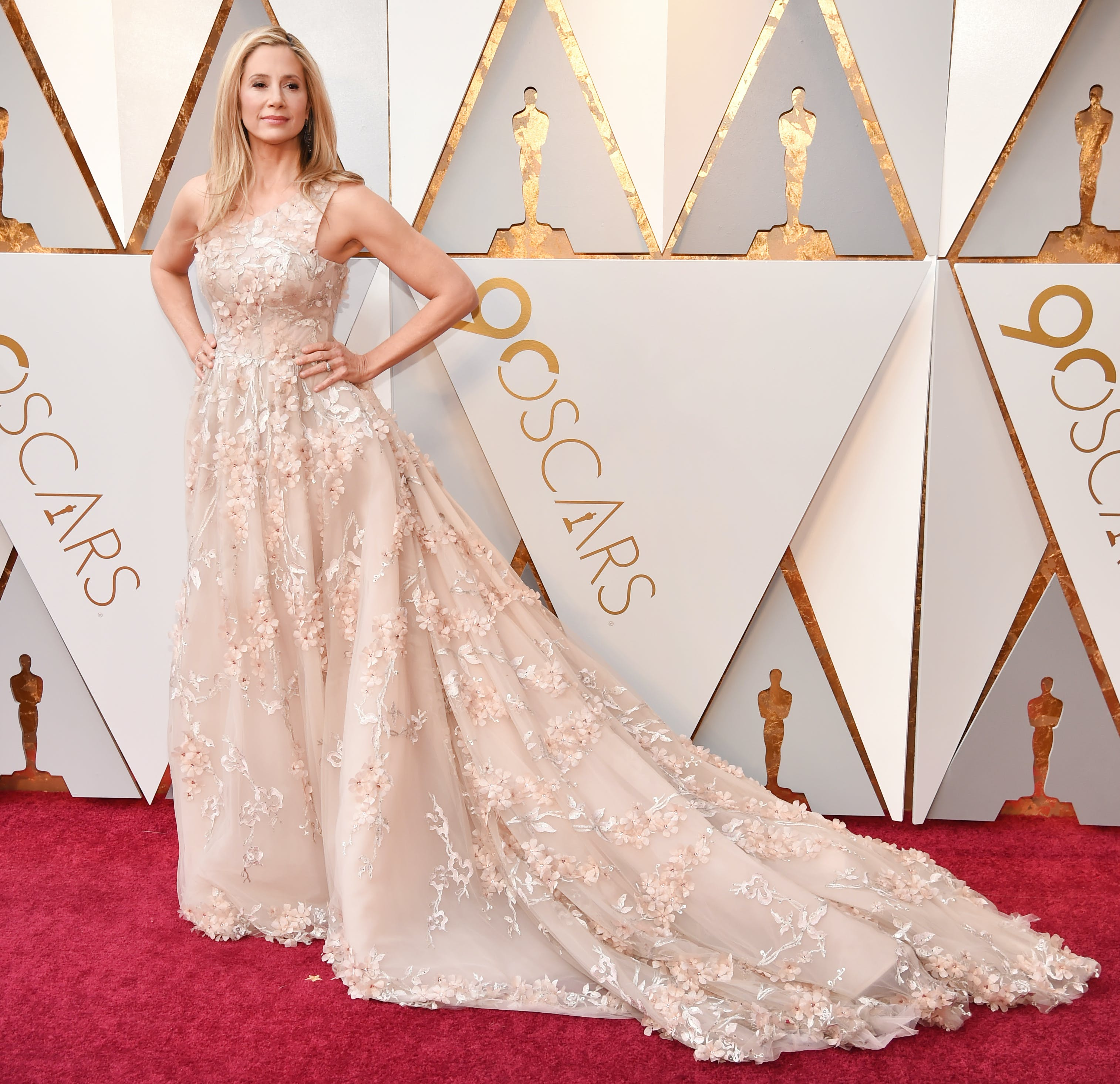 Mira Sorvino at the 2018 Oscars1