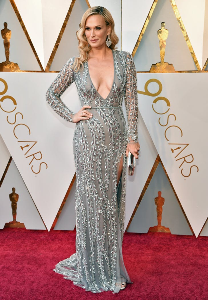 Molly Sims at the 2018 Oscars