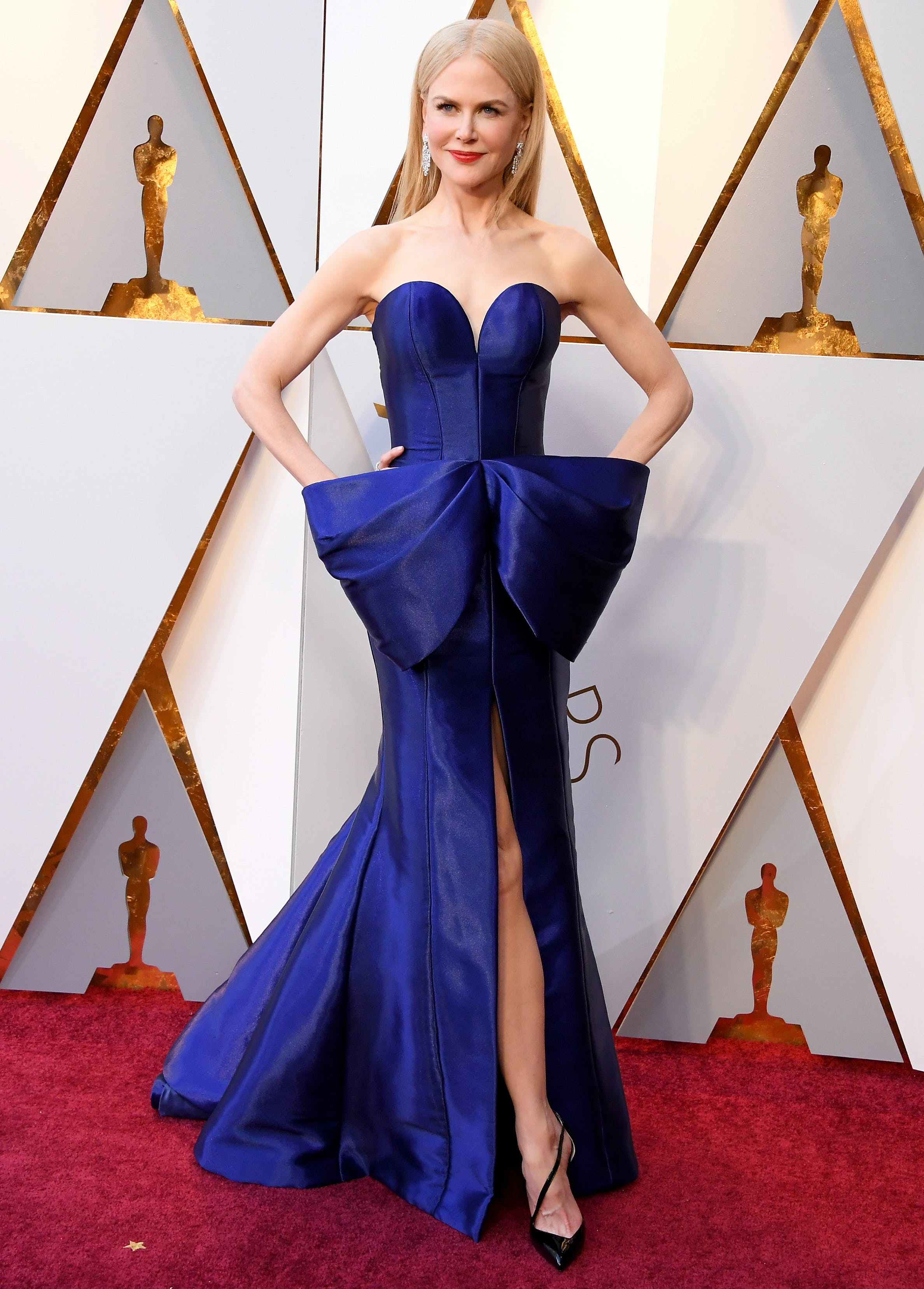 Nicole Kidman at the 2018 Oscars