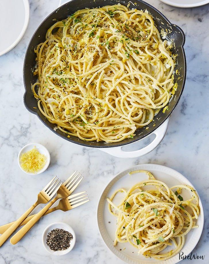 One pot pasta limone spring recipe